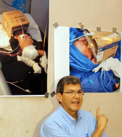 DEVELAN 'ESTAFA MAESTRA' EN YUCATÁN: Patrón Laviada da a conocer facturas apócrifas para desviar recursos del sector salud; Gobierno de Rolando Zapata rechaza acusaciones