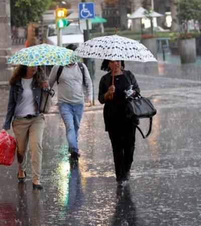 Será fin de semana de lluvias intensas y vientos fuertes desde BCS hasta la península de Yucatán