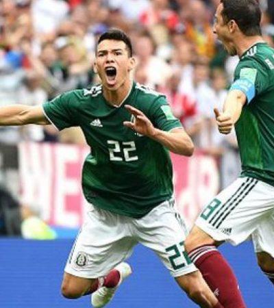 RUSIA 2018 | 'CHUKY' LOZANO DESCARRILA A LA MÁQUINA TEUTONA: Alemania debuta con derrota frente a México, Costa Rica cae ante Serbia y Brasil iguala a un gol con Suiza