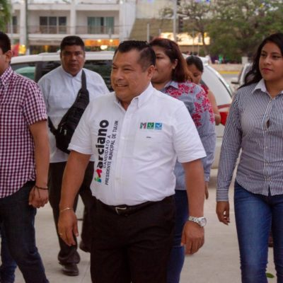 Acusa PRD ante el Ieqroo a la Alcaldesa Romalda Dzul de presuntos delitos electorales para apoyar a la campaña de Marciano Dzul