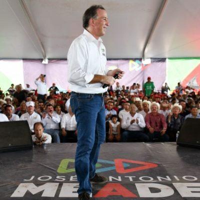 MEADE EN TABASCO: Cuando termine mi gobierno, me van a querer tanto que me van decir paisano