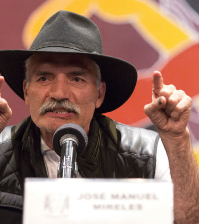 Queda Mireles, ex líder de autodefensas, fuera del proceso electoral tras segundo fallo del TEPJF