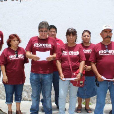 Morenistas de Puerto Morelos se suman al PES