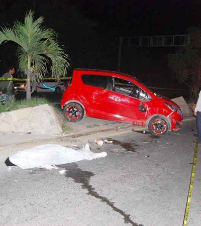 Causan alcohol y volante muerte de una joven en Tuxtla Gutiérrez