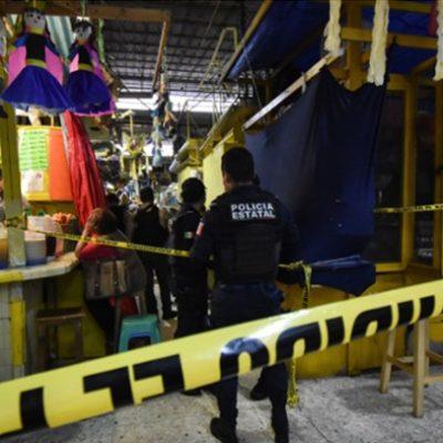 Matan a balazos a un joven en mercado de Xalapa