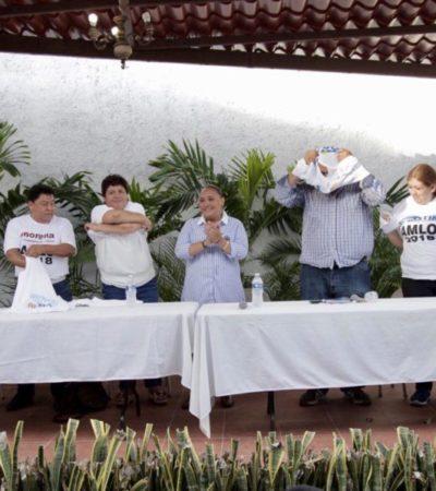 Morenistas 'históricos' dejan a Laura Beristaín para apoyar a Cristina Torres