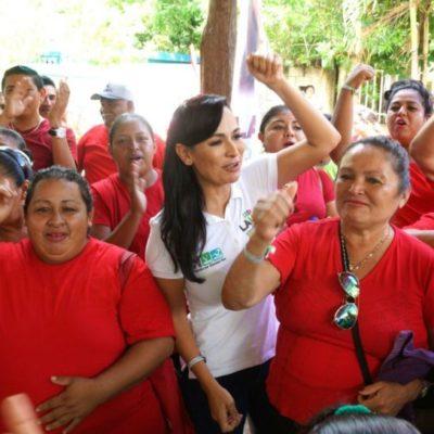 Además de la profesionalización de policías, Laura Fernández anuncia que en su segundo cargo como edil instalará una red de video vigilancia en áreas estratégicas de Puerto Morelos