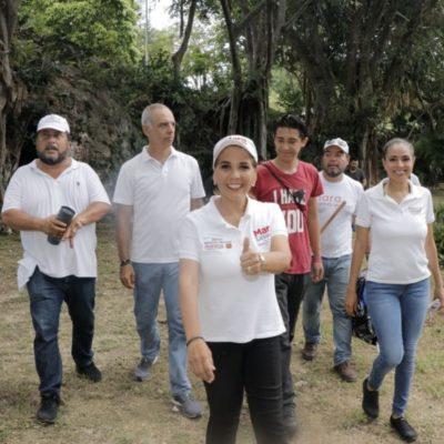 Mara Lezama hará del cuidado del Medio Ambiente una nueva cultura de gobierno, promete