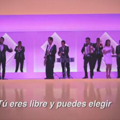 Desde Iztapalapa para todas las casillas, 'Los Ángeles Azules' promueven voto cruzado