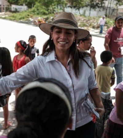 Asegura Marybel Villegas que con inclusión social y mejor infraestructura se podrá combatir mejor la inseguridad