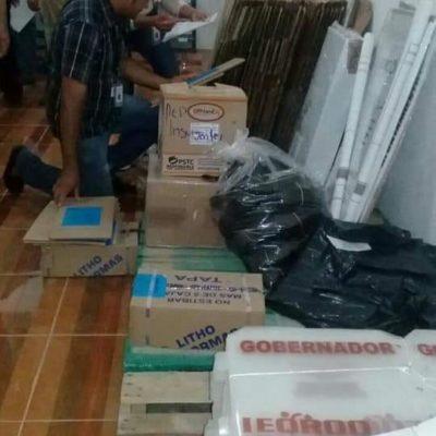 27 mil 308 boletas que se usarán en las elecciones ya llegaron a José María Morelos