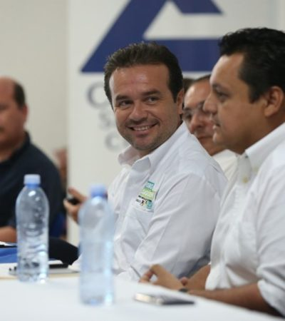 La Canaco de Cozumel respalda campaña de Pedro Joaquín