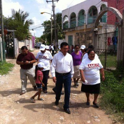 Jesús Pool llama a los jóvenes a dar su primer voto a los candidatos de Morena