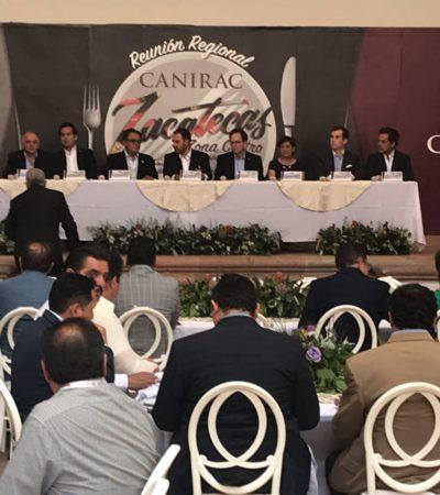 Canirac Cancún se vincula comercialmente con Zacatecas