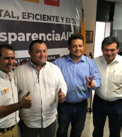 En busca del tiempo de campaña perdido, el líder empresarial Eloy Peniche Ruiz asume candidatura para gobernar BJ