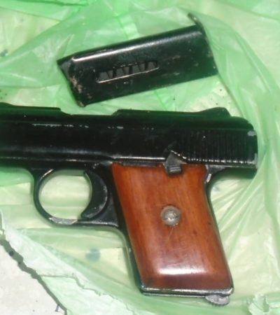 Tras huir de la policía, un jalisciense es detenido con arma de fuego en la Región 229