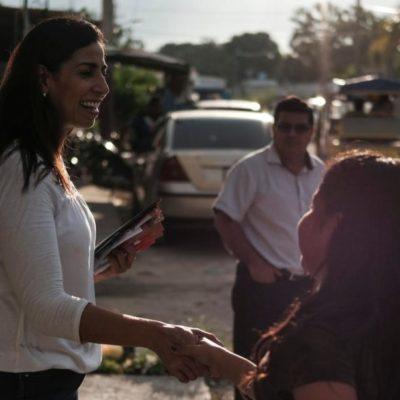 Marybel Villegasconfía que, con el triunfo de AMLO, se logrará la reconciliacióny la paz en México