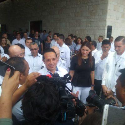 Aumentamos nuestra capacidad para combatir el delito, asegura Carlos Joaquín