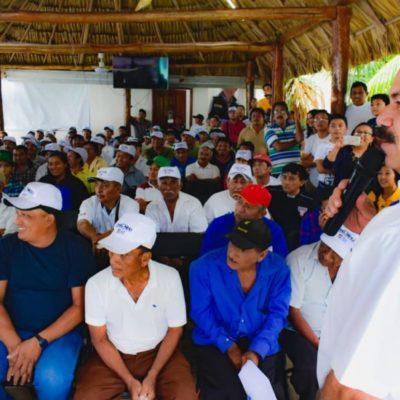 La miel de Quintana Roo tendrá valor internacional, promete Julián Ricalde a productores de Carrillo