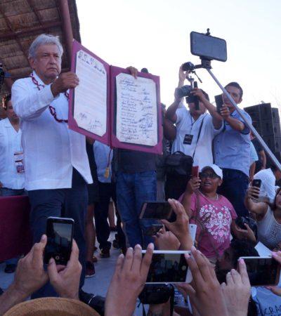 NUEVAS FECHAS PARA AMLO EN QR: Candidato de Morena a la Presidencia visitará Chetumal el 13 de junio y Cancún el 26 de junio