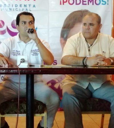 Denuncian amenazas contra Eloísa Zetina Barriga, candidata del PES en Puerto Morelos