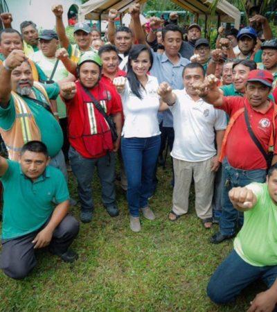 Laura Fernández avizora un próspero futuro turístico para Leona Vicario