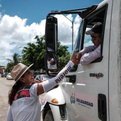 AMLO busca construir un 'desarrollo económico compartido', asegura Marybel Villegas