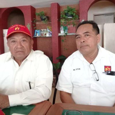 Se deslinda PT-Solidaridad de Laura Beristaín y anuncia impugnación por el nombramiento de Marciano 'Chano' Toledo a síndico