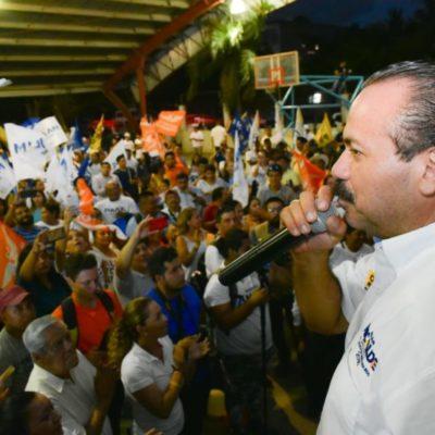 Los candidatos del 'Frente' somos aliados de Carlos Joaquín: Julián Ricalde