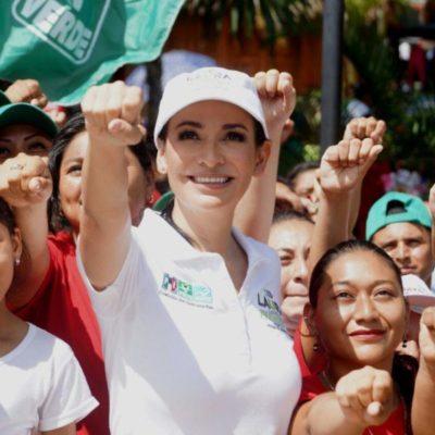 Los derechos de las mujeres formarán parte de las acciones de gobierno de Laura Fernández en Puerto Morelos