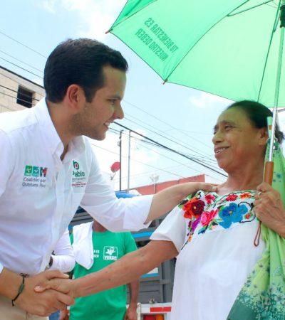 Ofrece Pablo Bustamante eliminar el DAP en Cancún y general energía limpia