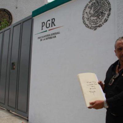 Formalizan denuncia ante la PGR contra Víctor Mas Tah, candidato a presidente municipal de Tulum, por cierre del Museo de la Prehistoria Parque Dos Ojos