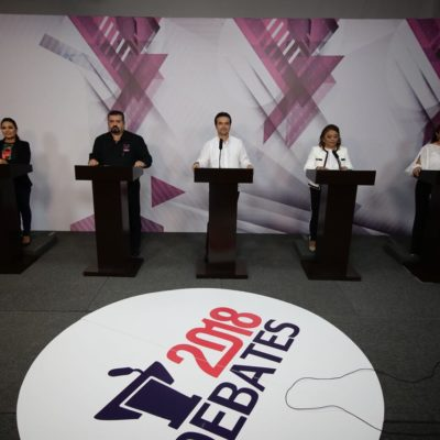 CIERRA COZUMEL PASARELA DE DEBATES: Coinciden candidatos en muchas propuestas e intercambian pocos ataques que incluyeron acusaciones de amenazas