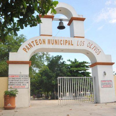 Invierten 1.5 mdp para rehabilitar el panteón municipal de Cancún