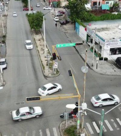DEFIENDEN LA PROHIBICIÓN DE LAS VUELTAS A LA IZQUIERDA: Los pares viales en avenidas importantes de Cancún se aplicarán por etapas como solución a los problemas de movilidad de Cancún