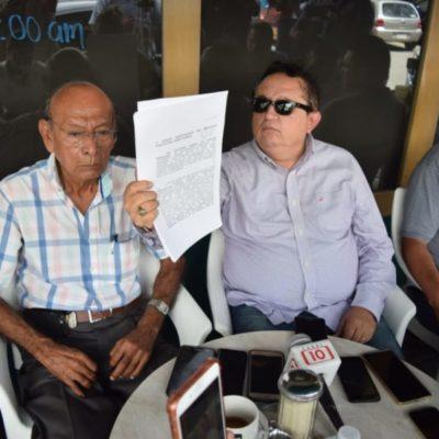 EXHIBEN A SÍNDICO DE MARA LEZAMA: Heyden José Cebada y Luis Antonio Lomelín, director de Protección Civil en BJ, son acusados por fraude en la administración borgista