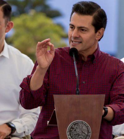 Confía Peña Nieto en que debate despierte mayor interés entre la ciudadanía que el mundial de Rusia