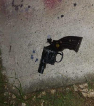 Aseguran revólver en la Región 249