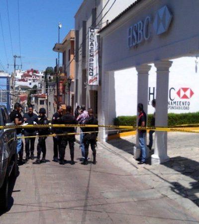 Sacan a cliente del banco y lo despojan de 600 mil pesos en Comitán, Chiapas