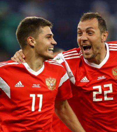 RUSIA 2018 | LOS GOLES SON DE CASA: Rusia mete 3 a Egipto y casi lo despide, Senegal 'baila' 2-1 a Polonia y una sorprendida Colombia es derrotada por Japón