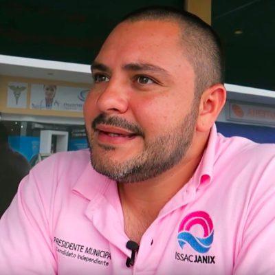 ENTREVISTA | ISSAC JANIX ALZA LA MANO: Aprovecha el candidato independiente de Cancún el vacío dejado por la caída de los abanderados de dos alianzas y califica a 'Mara Lezama' como la continuidad de Remberto Estrada y Paul Carrillo