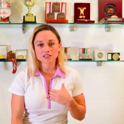 Despiden a la medallista olímpica Carolina Valencia de la Cojudeq y acusa que fue por sus vínculos con la coalición PRI-PVEM-Nueva Alianza