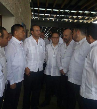 CUMBRE DE SEGURIDAD EN PLAYA: Inauguran Asamblea Plenaria con secretarios de todo el país para ver qué resuelven