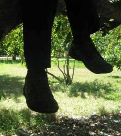 Se quita hombre la vida colgándose de un árbol en Villa Corzo, Chiapas