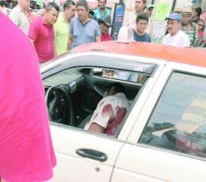 Ejecutan a taxista en Acayucan a siete meses de que asesinaran a uno de sus hermanos