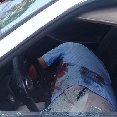 Ejecutan motociclistas a taxista en Acayucan; es el segundo en una semana