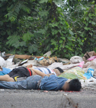 CIFRAS DE TERROR: 44 asesinatos a la semana en Veracruz; van casi mil en lo que va del año