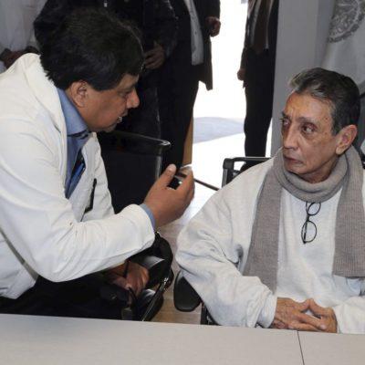 REGRESAN A MARIO VILLANUEVA AL 'INFIERNO' DEL CEFEREPSI: Trasladan durante la madrugada al ex Gobernador de QR al recusorio psiquiatrico de Morelos donde también se encuentra Roberto Borge