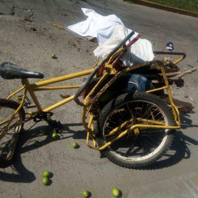 Muere sexagenario arrollado por camión recolector de basura