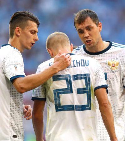 RUSIA 2018 | TROPIEZA RUSIA: Pierde 3-0 ante Uruguay; España y Portugal igualan contra Marruecos e Irán; Arabia Saudita y Egipto ofrecen juego épico